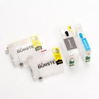 Картриджи BURSTEN NANO 2 для Epson SX525WD, BX305F, BX625FVD, BX305FW (T1301 - T1304) x 4