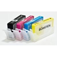 Картриджи BURSTEN для НР 920 с чипами 4 шт