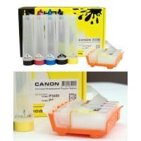 СНПЧ для Canon iP3600/4600 (PGI-520Bk CLI-521) (80 ml) без чипа CHERNIL.NET