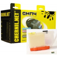 СНПЧ для Canon iP4200/4300/4500/3300/5200 PIXMA 5200R (80 ml) CHERNIL.NET с чипами