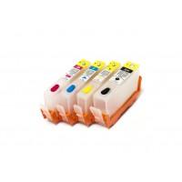 Картриджи для HP №178 4шт (с чипами)